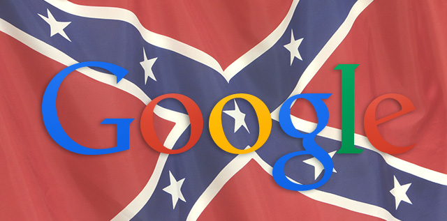 Google Confederate Flags