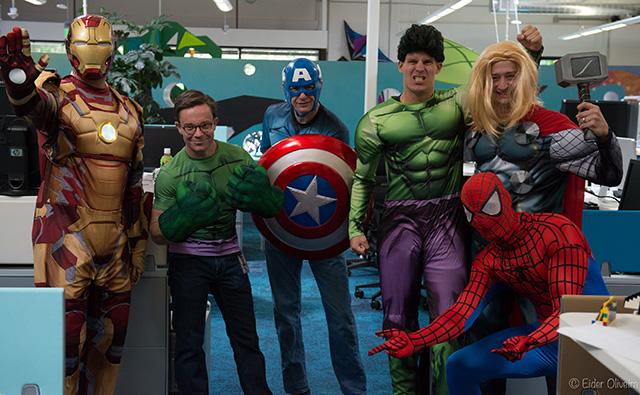 Google Super Heros