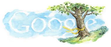 Google Veterans Day Logo - 11/11/11