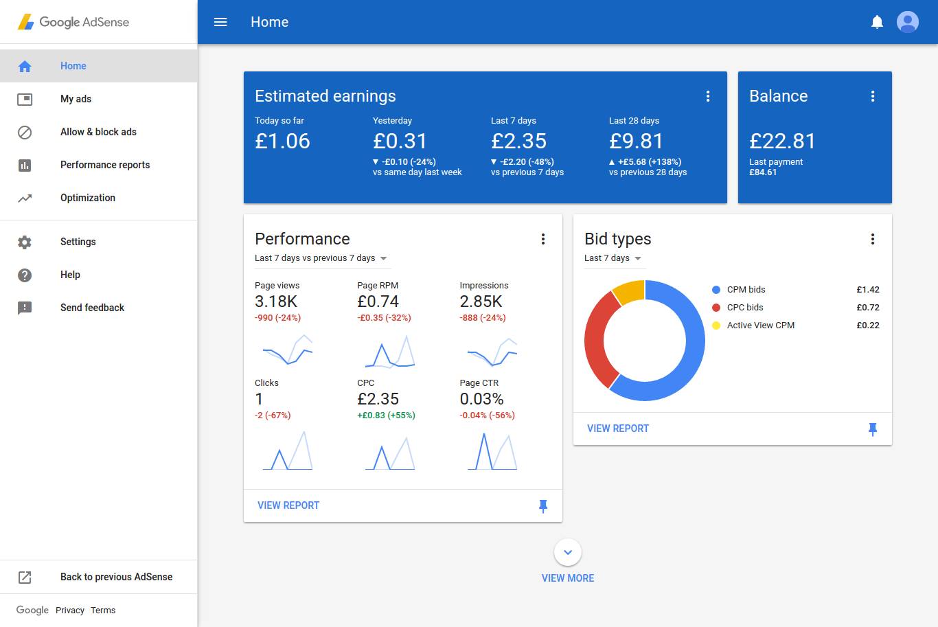 New Google AdSense Interface Becomes The Default