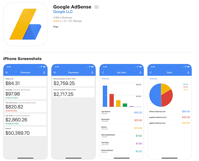 Google AdSense To Discontinue iOS & Android Apps
