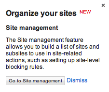 cGoogle AdSense Site Management Beta