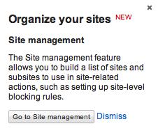 cGoogle AdSense Site Management Beta