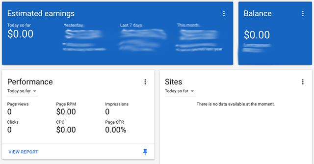 Google AdSense Stats & Earnings Reports Broken Today