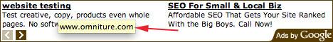 Google AdSense Title Tip