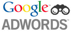 Google AdWords Binoculars Icon