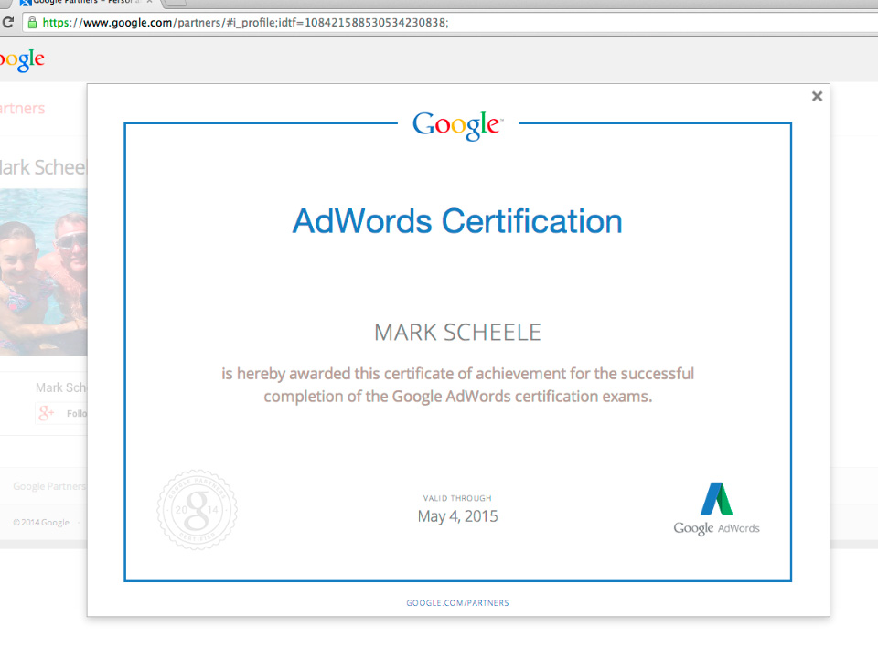 Google Partners Get Personalized Certificates Public Profiles Pages
