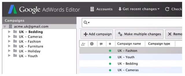 Google AdWords Editor Version 11