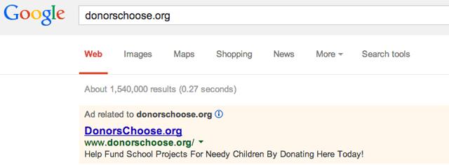 Google AdWords Ad Format