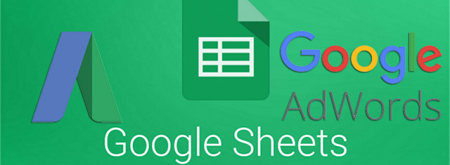 Google Adwords Add On For Google Sheets