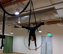 Google Aerial Silks