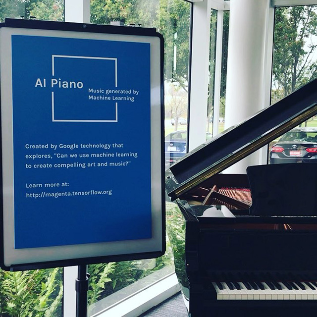 Google Has An AI Piano - Music By Machine Learning
