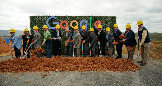 Google Data Center Groundbreaking In Bridgeport, Alabama