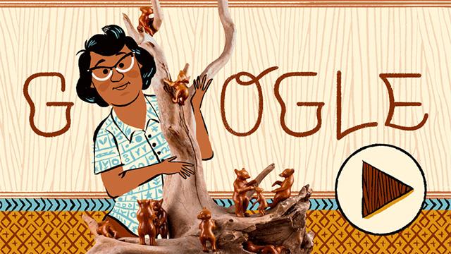 Google Doodle For Amanda Crowe
