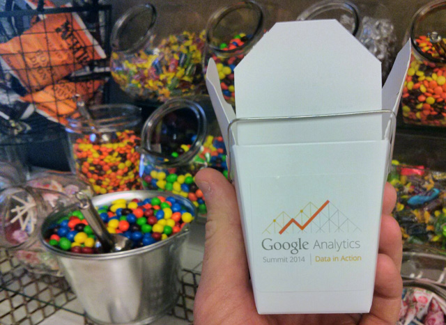 Google Analytics Chinese Food Container
