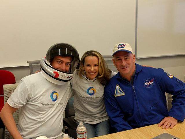 Google Analytics & NASA