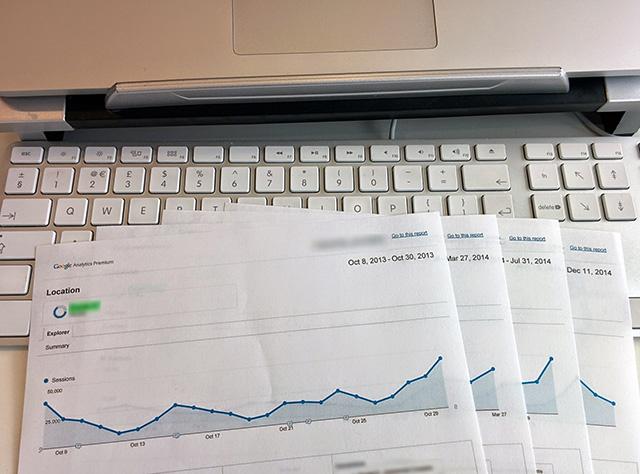 Paper Google Analytics Charts
