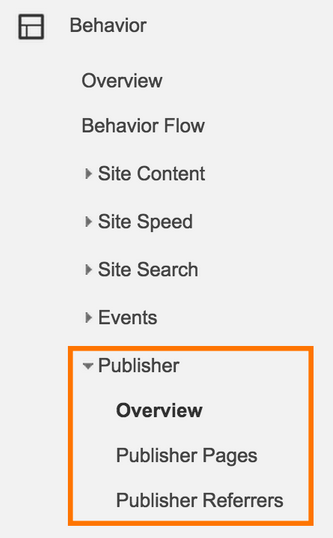 Google Analytics Reports For AdSense Publisher