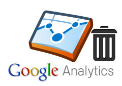Google Analytics Trash Can