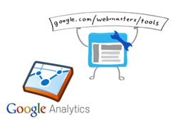 google webmaster tools & google analytics