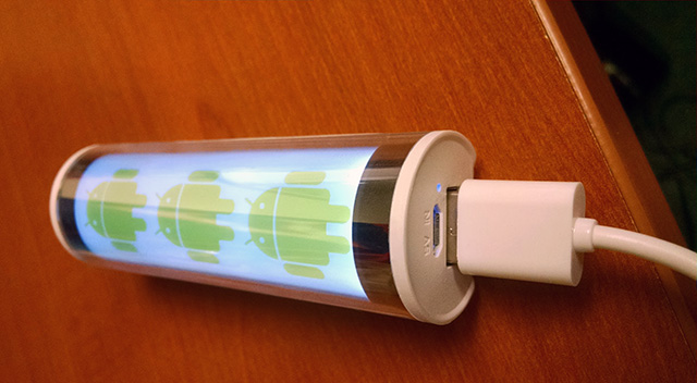 Google Android Light Up USB Charger