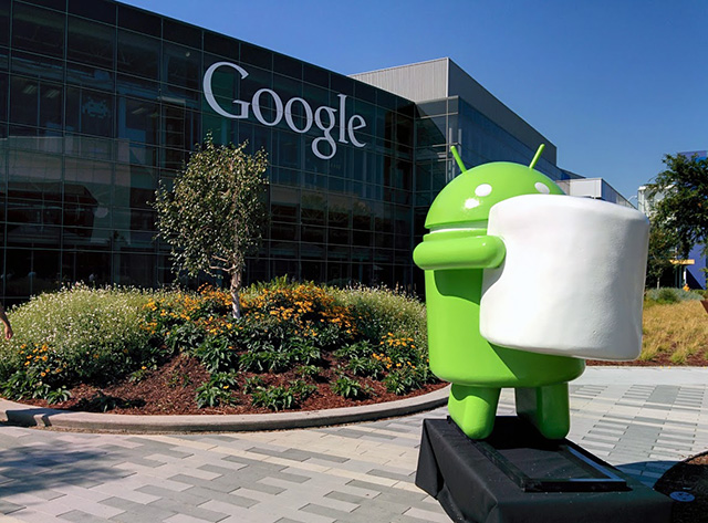 Android Marshmallow Statue