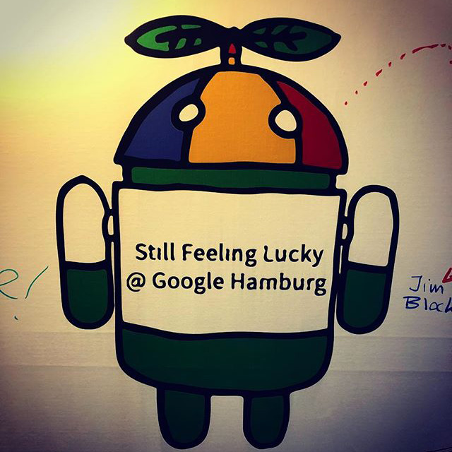 Google Android Still Feeling Lucky