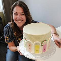 Georgian Doors Google Anniversary Cake
