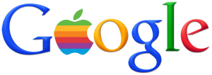 Google Apple Logo - Steve Jobs