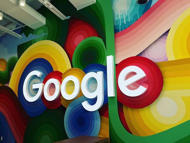 Google Colorful Art Mural