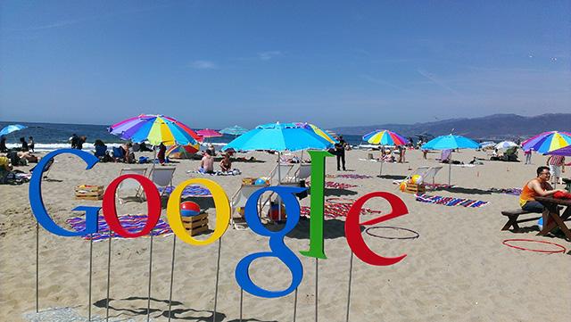 Google At The Beach