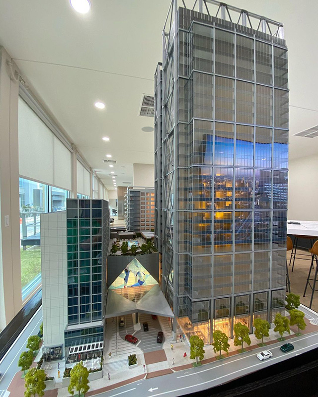 Google Atlanta Tower Model