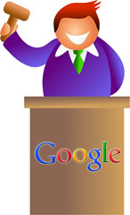 Google Auction Penalty