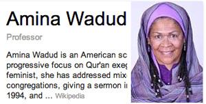 Google Authorship Headscarf