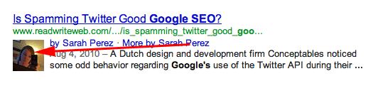 Google Authorship Image