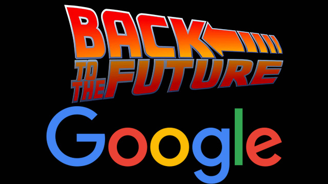 google back to the future