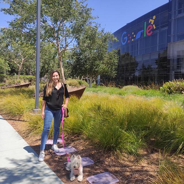 Señalización de regreso al trabajo de GooglePlex