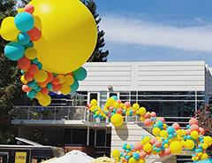 Google Hosts Balloons Bubbles Social Event