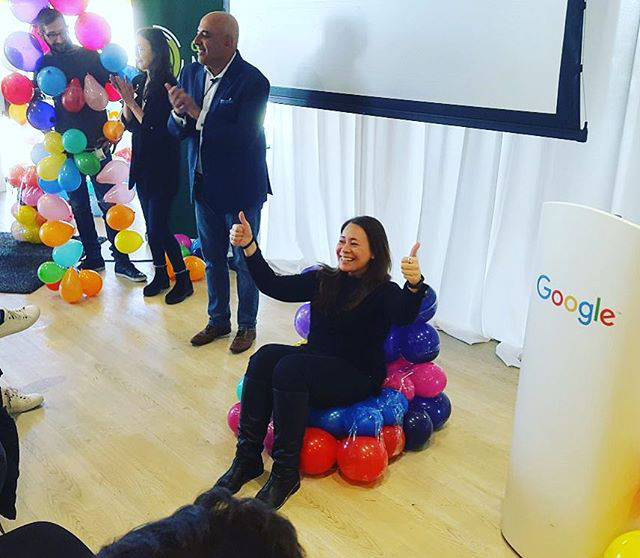 Google Balloon Chair