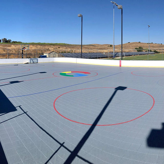New Google Basketball Sport Court