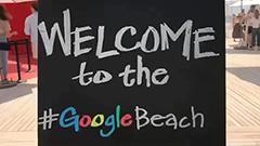 The Google Beach Party