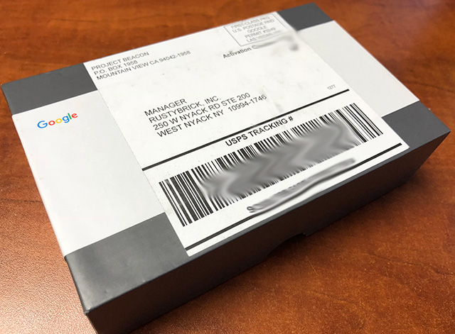 Google Project Beacon - Were You Mailed A Google Beacon?