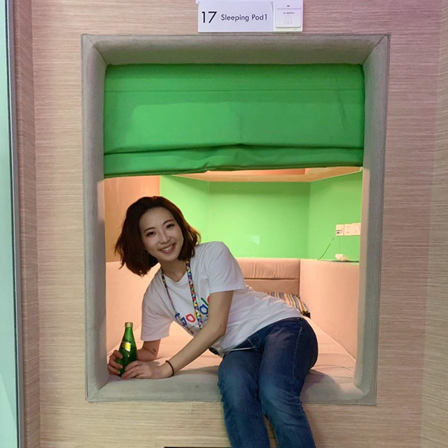 Google Beijing Sleep Pods