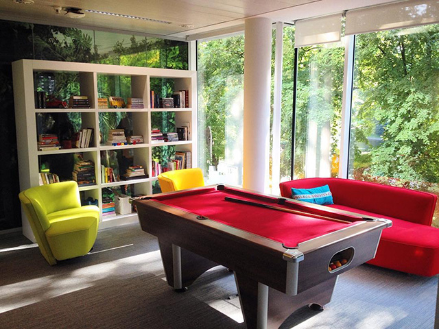 Google Belgium Relaxation Room