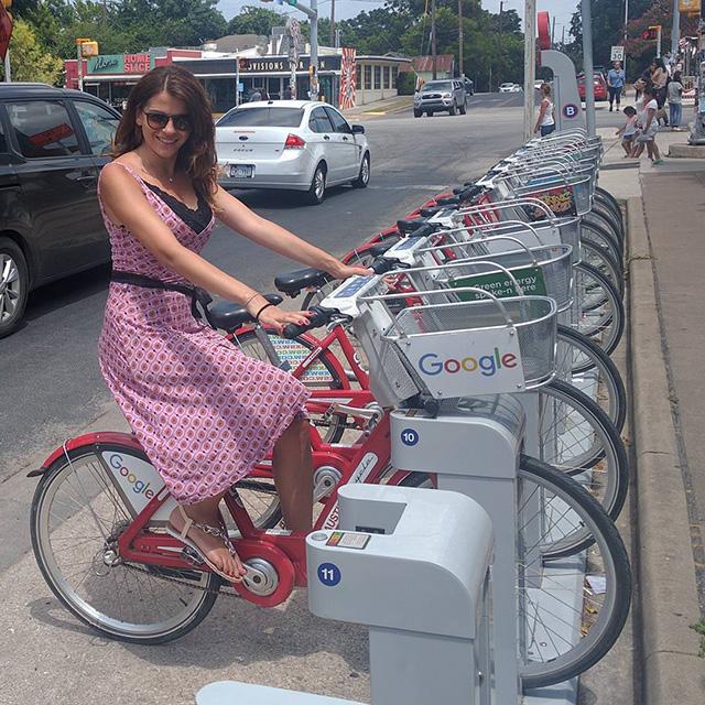 Google Bicycle Advertisement