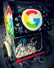 Google Bike Trailer In Indonesia