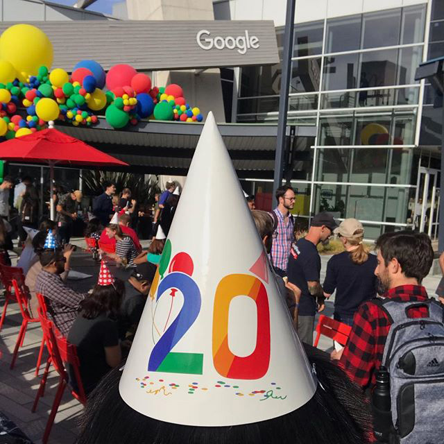 Google Birthday Celebration At The GooglePlex