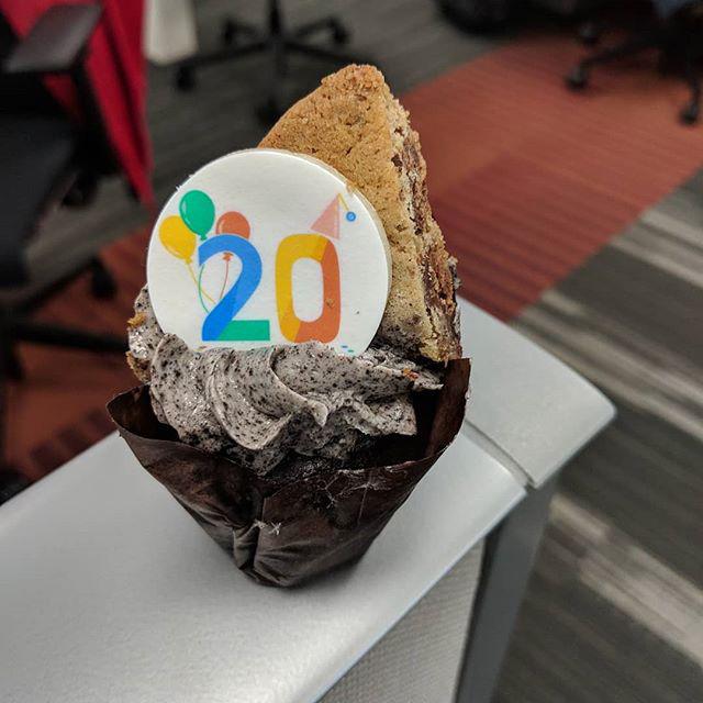 Google Birthday Cookie & Ice Cream