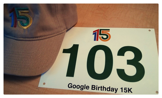 Google's 15th Birthday Race