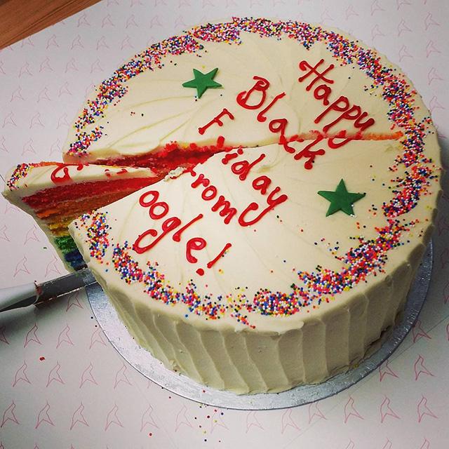 Google Black Friday Cake